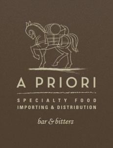 A Priori Bar and Bitters Catalog